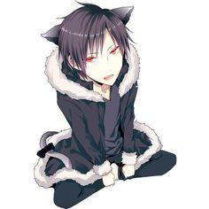 Orihara Izaya ❤ liked on Polyvore featuring anime and durarara