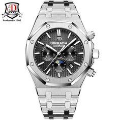133.22$  Buy here - http://aliorg.worldwells.pw/go.php?t=32784841971 - Watches Men Luxury Top Brand Original Binkada Waterproof Auto mechanical Watches fashion wristwatch mens Royal Style 133.22$