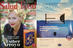 Este es el anuncio de #LaundryPro en la revista de tirada nacional Salud Total del mes de octubre: