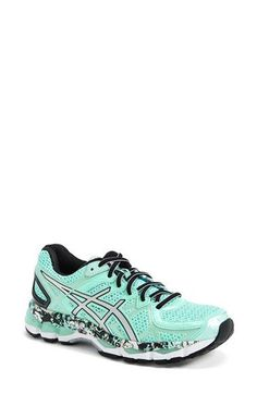 Free shipping and returns on ASICS® 'GEL-Kayano 21' Running Shoe (Women) at http://Nordstrom.com. Available in both classic and fresh colors, this iconic running shoe features next-level design updates to offer unsurpassed comfort and support. FluidFit upper technology adapts to the foot for a one-of-a-kind, glove-like fit, while a FluidRide midsole provides enhanced cushioning and durability resulting in a responsive and exceptionally stable ride.