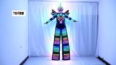 Robot Costume Kids, Halloween Costumes, Tall Man, Tall Guys, Light Up Costumes, Led Costume, Robot Illustration, Costume Design