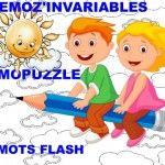 ORTHOGRAPHE : CE1/CE2 Les mots invariables