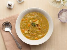 Parker's Split Pea Soup from the Barefoot Contessa. The best split pea soup recipe I've ever made. Perfect for wintertime.