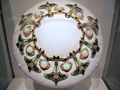 These pieces where also created for Sarah Bernhardt by Rene' Lalique: