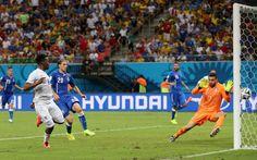 England v Italy, Daniel Sturridge scores England's only goal
