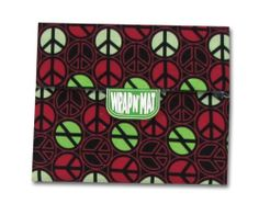 Wrap-N-Mat 30409 Placemat, Peace-a-Bread by Ginsey Industries, Inc.. $7.99. Easy and convenient for all ages. Easy-to-clean, with no corners for crumbs to hide. Converts into a placemat, creating a clean eating surface, anywhere. Help reduce plastic baggie and paper plate waste. Phthalate, bpa and lead free. Wrap-N-Mat starts as a sandwich wrap and converts into a placemat. The original re-usable food wrap and placemat in one. When Wrap-N-Mat was invented in 1997, Being Green...