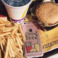 All you need is LOVE food![shop our cases on goca.se/insta] #burgersandfries…