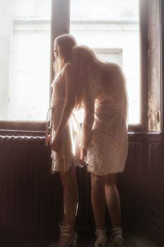 lace bridesmaids David Hamilton
