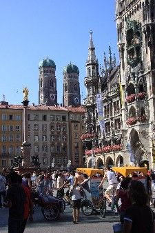 Munich, Germany... something about the architecture makes me happy!