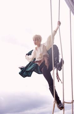 Pirate England cosplay -Hetalia