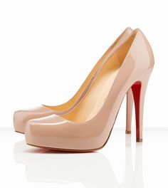 Christian Louboutin Rolando 120mm Nude...not that I would ever spend this much on shoes!