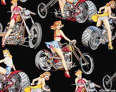 Motorcycle Chicks - Black