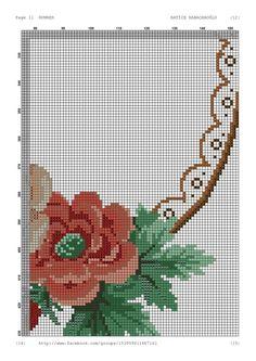 Cross Stitch Bird, Cross Stitch Flowers, Cross Stitch Designs, Cross Stitch Patterns, Bargello, Needlepoint, Diy And Crafts, Knitting, Handmade