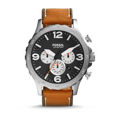Buy Fossil JR1486  Brown Round Chronograph Watch by E TRADERS RETAIL, on Paytm, Price: Rs.9495?utm_medium=pintrest
