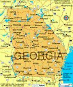 map of georgia georgia entered the union in 2 jan the capitol is atlanta