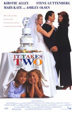 It Takes Two , starring Kirstie Alley, Steve Guttenberg, Mary-Kate Olsen, Ashley Olsen. Amanda Lemmon is a street-wise orphan who's about to be adopted by a family who uses children for their own selfish gain... #Comedy #Family #Romance