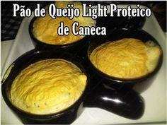 Como fazer Pão-de-Queijo Light Proteico de Caneca!! | Cozinha Rápida & Fácil