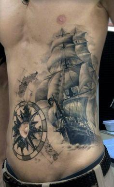 kompass tattoo rücken - Google-Suche