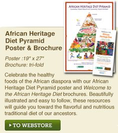 African Heritage Diet Pyramid | Oldways
