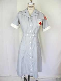 1940s Rare WW2 American Red Cross Uniform