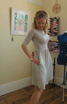 New Colette Patterns and My Completed Moneta Dress | Guthrie & Ghani