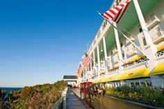 Mackinack Island - Islands with peaceful parks and preserved history create a soul-reviving escape.