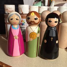 St. Elizabeth, mother of John the Baptist, St. Jude, and St. Frances Xavier Cabrini (Mother Cabrini).