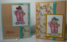 Trenas Stampin Headquarters: Art Impressions Challenge - Show Your Bow