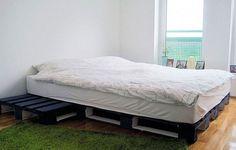 Esta é mais uma solução muito prática para fazer a sua cama de paletes rapidamente e sem precisar de muita ferramenta.