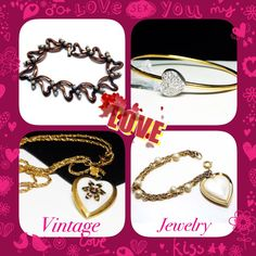 State your  with #vintage #jewelry. #TheJewelSeekerOnEtsy