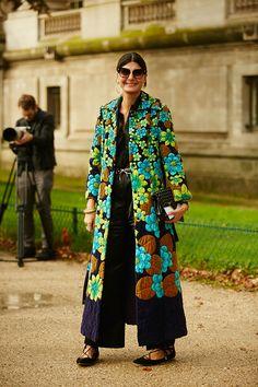 Неделя моды в Париже, весна-лето 2016: street style. Часть 4 (фото 3)