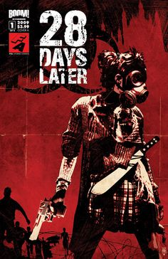 28 Days Later - graphic novel cover by Tim Bradstreet