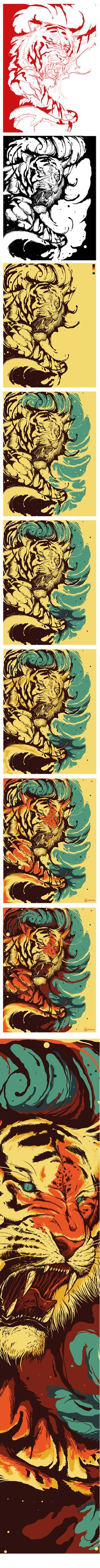 """""""The Tiger's Eyes are like my own"""""""