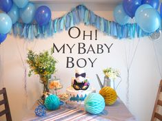 DIY BABY SHOWER!!