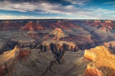 Evening at the Grand Canyon Photo by David Yegerlehner -- National Geographic Your Shot