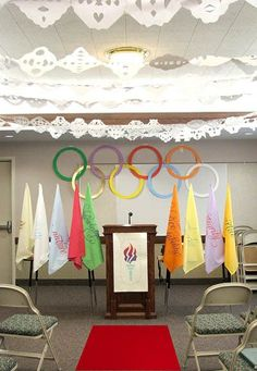 The Winter Olympics are here again! What better theme for a New Beginnings? You can talk about going for gold—setting goals and accomplishin...