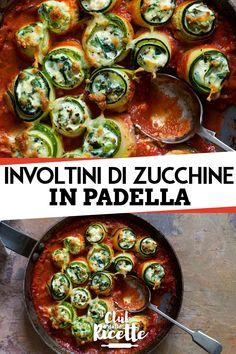 Gli Involtini di Zucchine in Padella sono una delle ricette estive più buone e semplici di sempre. Ecco come prepararli in modo pratico e servirli agli ospiti!