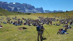 In diretta da #ISuonidelleDolomiti #Campiglio #Trentino #Dolomiti Festival della musica in alta quota Anche noi del #ComanoCattoniHoliday presenti all'evento @campi