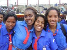 Catholic Girl Guides from Madagascar (Fanilon'i Madagascar) Day Gs World, Bronze Award, World Thinking Day, Brownie Girl Scouts, Girl Guides, Catholic, Organization, Education, South Africa
