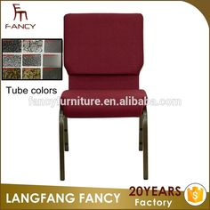china modern cheap stacking padded church chairs used