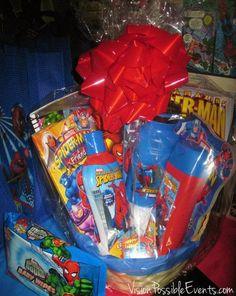 Photo 2 of 13: Super Hero Batman, spiderman Superman, Larry boy ...