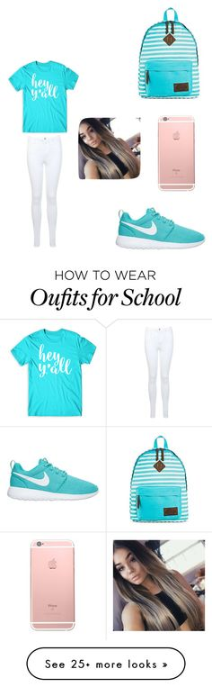 """School 2016"" by starrjames on Polyvore featuring Dickies and Miss Selfridge"