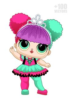 Cute Coloring Pages, Colouring Pics, Sewing Projects For Kids, Sewing For Kids, Royal Icing Templates, Lol Doll Cake, Doll Drawing, Cute Cat Wallpaper, Cute Kawaii Drawings