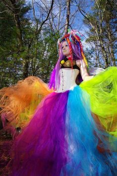 Epic! what a beautiful use of tulle!