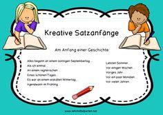 Deutsch: Kreative Satzanfänge