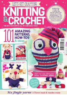 Issue 74 of LGC Knitting & Crochet magazine, on sale from 28th August to 1st October 2015, comes with six balls of pretty Jingle yarn just for you!