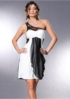 Egyvállas ruha Csábítóan szép • 8799.0 Ft • Bon prix Sexy Dresses, Formal Dresses, Vestidos Sexy, Beige, Slip, Ideias Fashion, Champagne, Strapless Dress, One Shoulder
