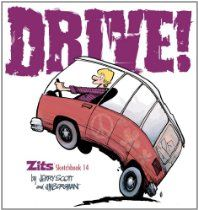 Drive!: Zits Sketchbook No. 14 by Jim Borgman and Jerry Scott #Zits #GoComics