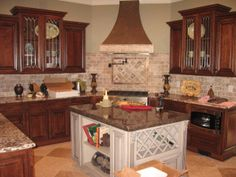 A beautiful kitchen provided by KB Kitchen And Bath. Contact your local office for details on your new kitchen. www.kbkitchen.com