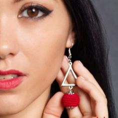 Fülbevalók - MaryAnn Design Drop Earrings, Jewelry, Design, Fashion, Moda, Jewlery, Jewerly, Fashion Styles, Schmuck